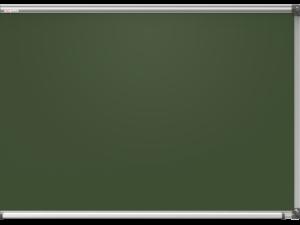 дошка шкільна крейдова магнітна